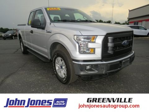 Pre-Owned 2017 Ford F-150 XL 4WD Super Cab